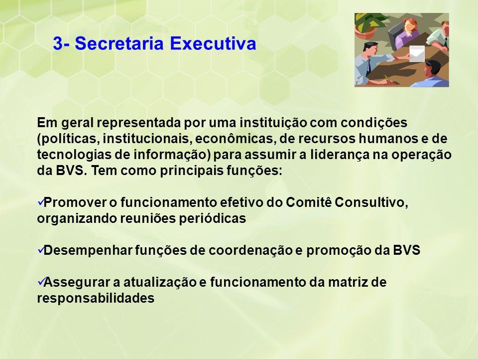 3- Secretaria Executiva