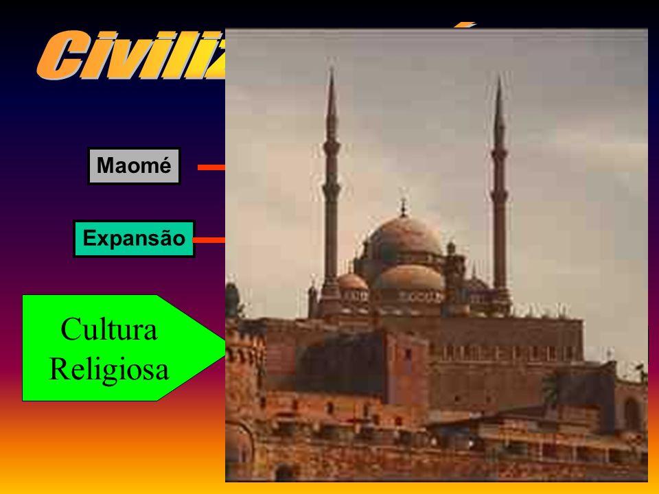 Civilização Árabe Cultura Religiosa Maomé HÉGIRA / ISLAMISMO Expansão