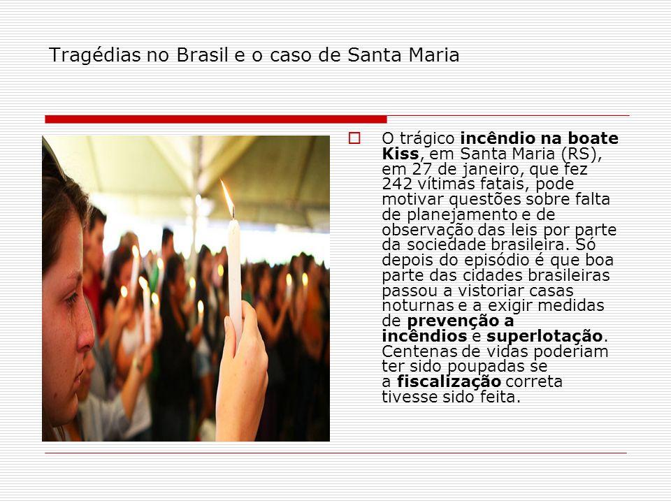 Tragédias no Brasil e o caso de Santa Maria