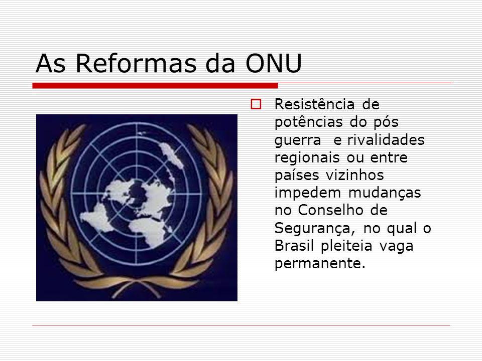 As Reformas da ONU