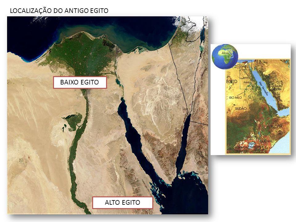 LOCALIZAÇÃO DO ANTIGO EGITO