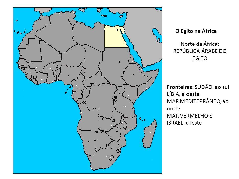 Norte da África: REPÚBLICA ÁRABE DO EGITO