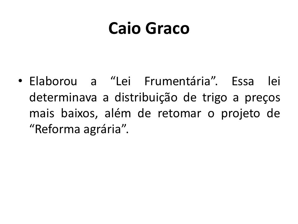 Caio Graco