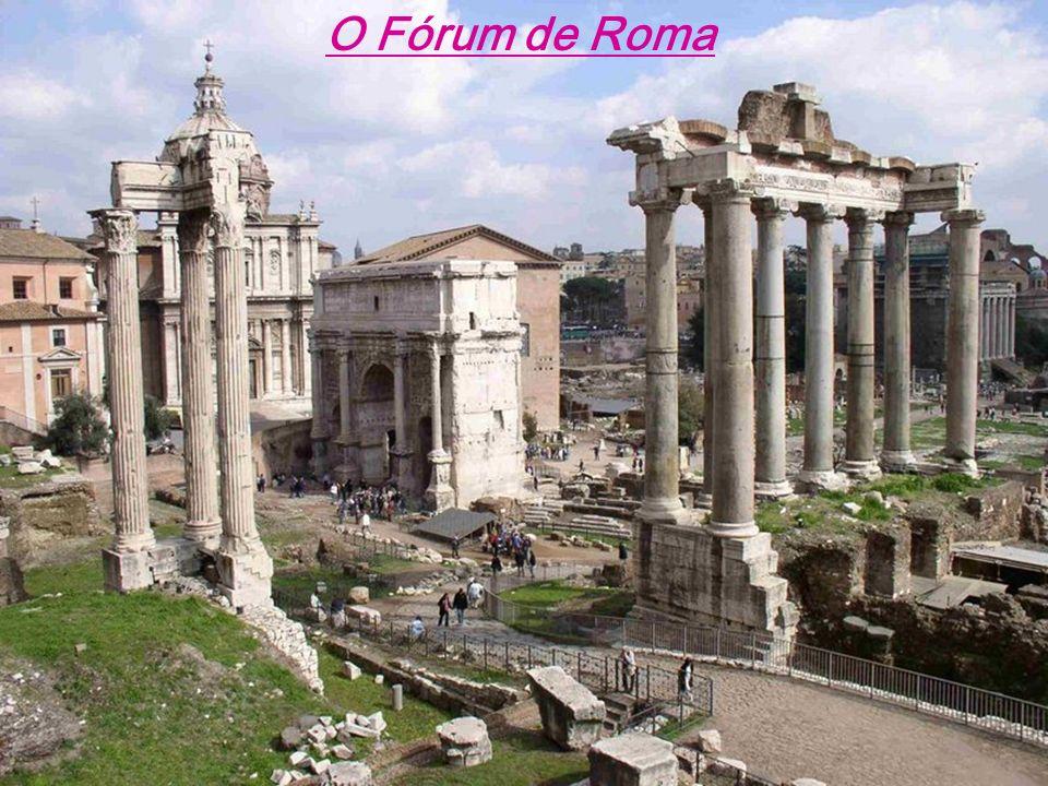 O Fórum de Roma