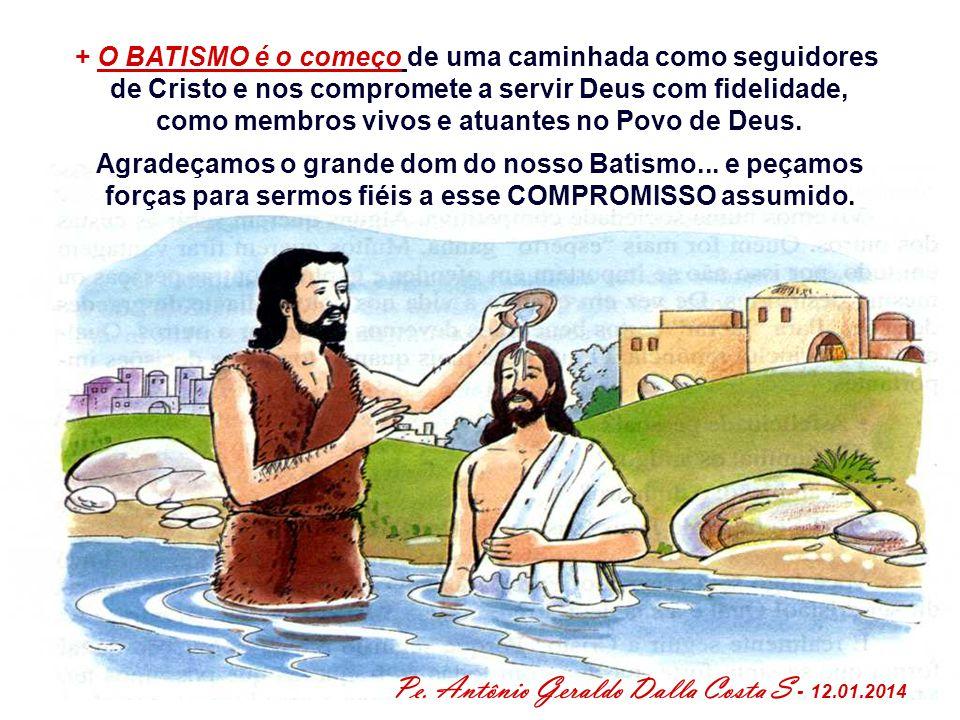 Pe. Antônio Geraldo Dalla Costa S - 12.01.2014