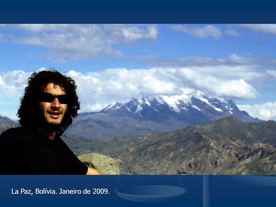 La Paz, Bolívia. Janeiro de 2009.