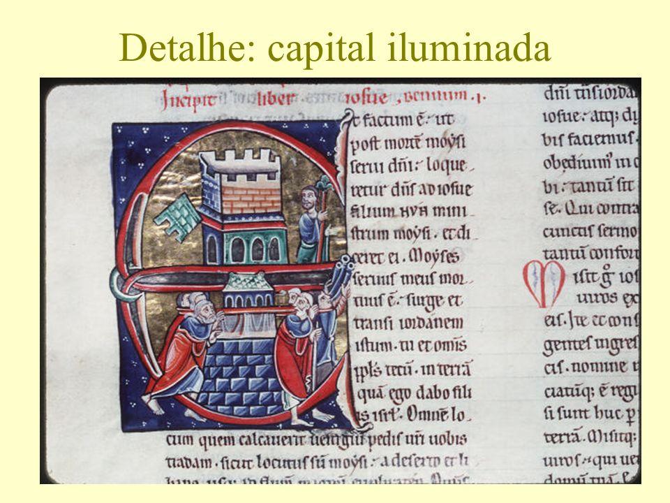 Detalhe: capital iluminada