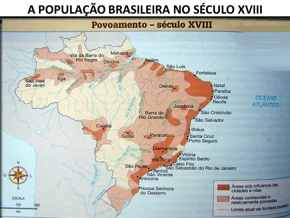 A POPULAÇÃO BRASILEIRA NO SÉCULO XVIII