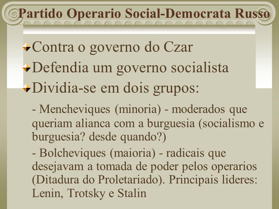 Partido Operario Social-Democrata Russo