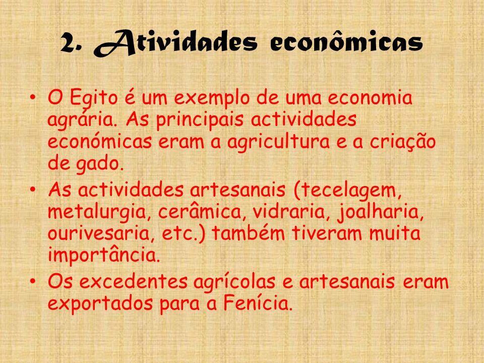 2. Atividades econômicas
