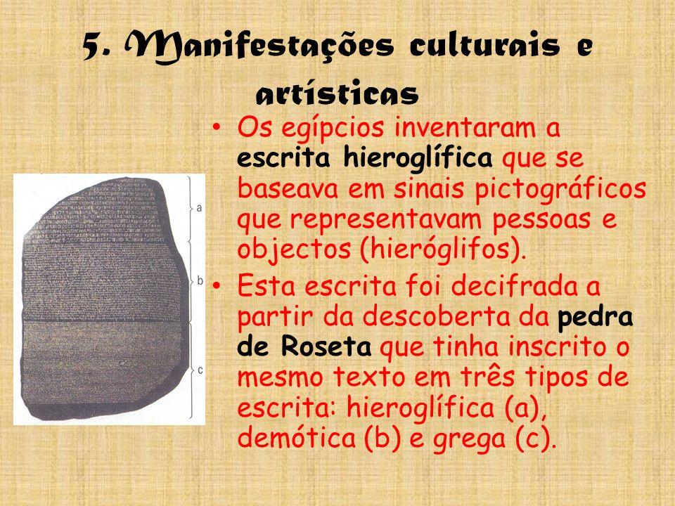 5. Manifestações culturais e artísticas