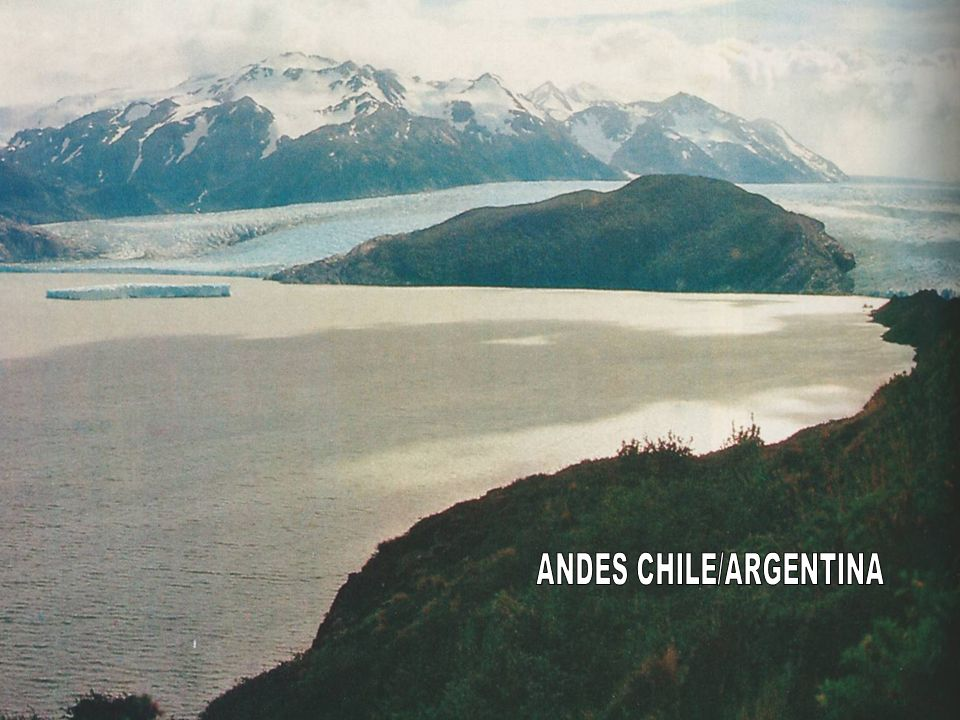 ANDES CHILE/ARGENTINA