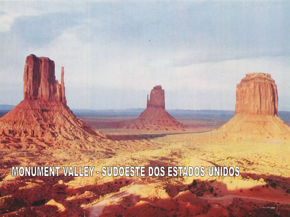 MONUMENT VALLEY - SUDOESTE DOS ESTADOS UNIDOS
