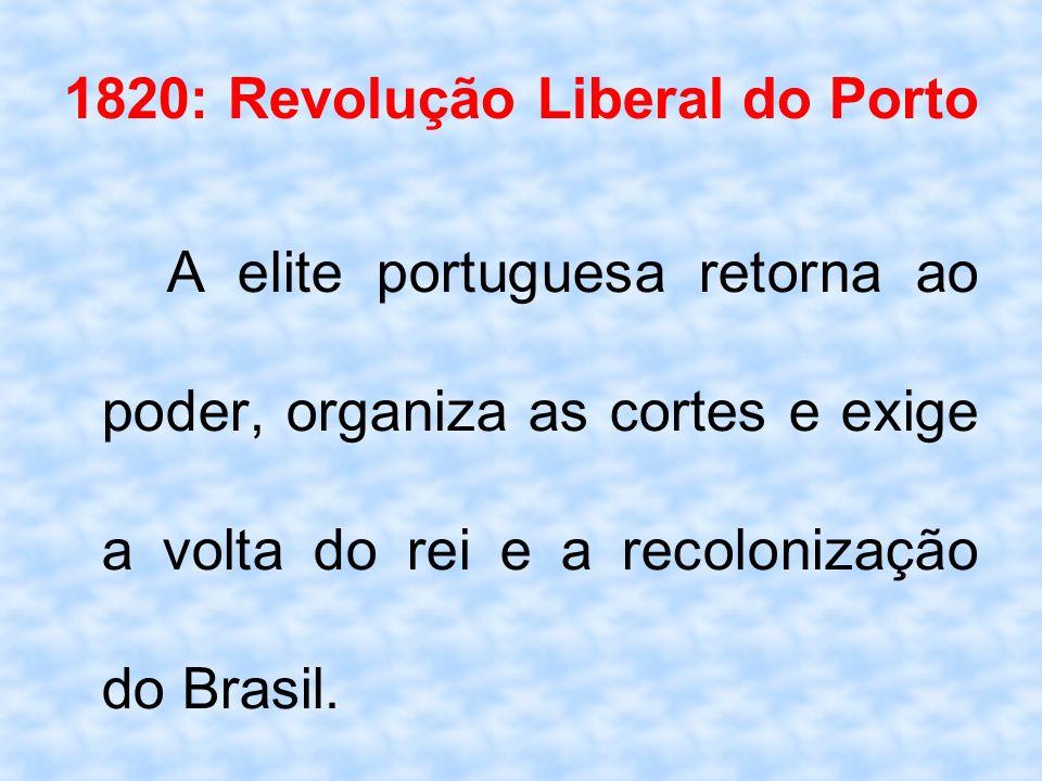 1820: Revolução Liberal do Porto