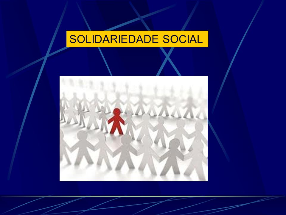 SOLIDARIEDADE SOCIAL