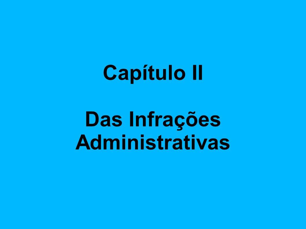 Das Infrações Administrativas