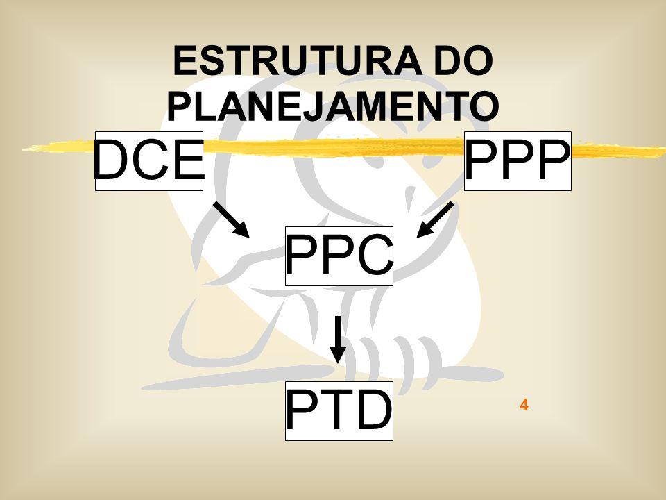 ESTRUTURA DO PLANEJAMENTO