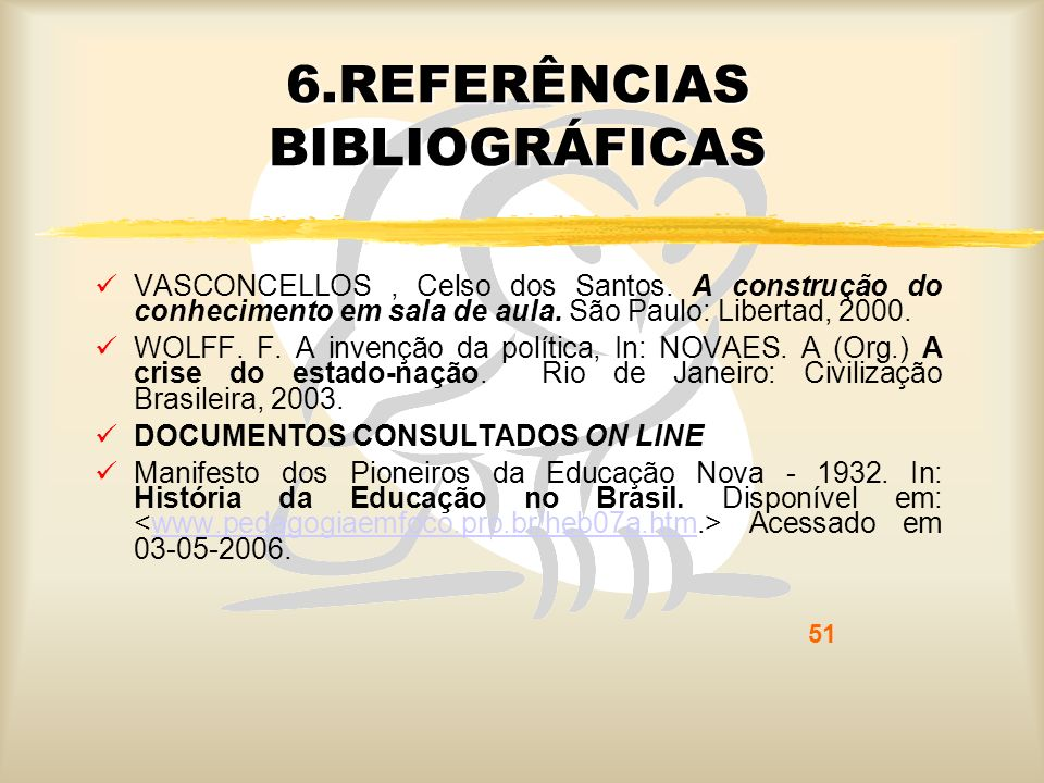 6.REFERÊNCIAS BIBLIOGRÁFICAS
