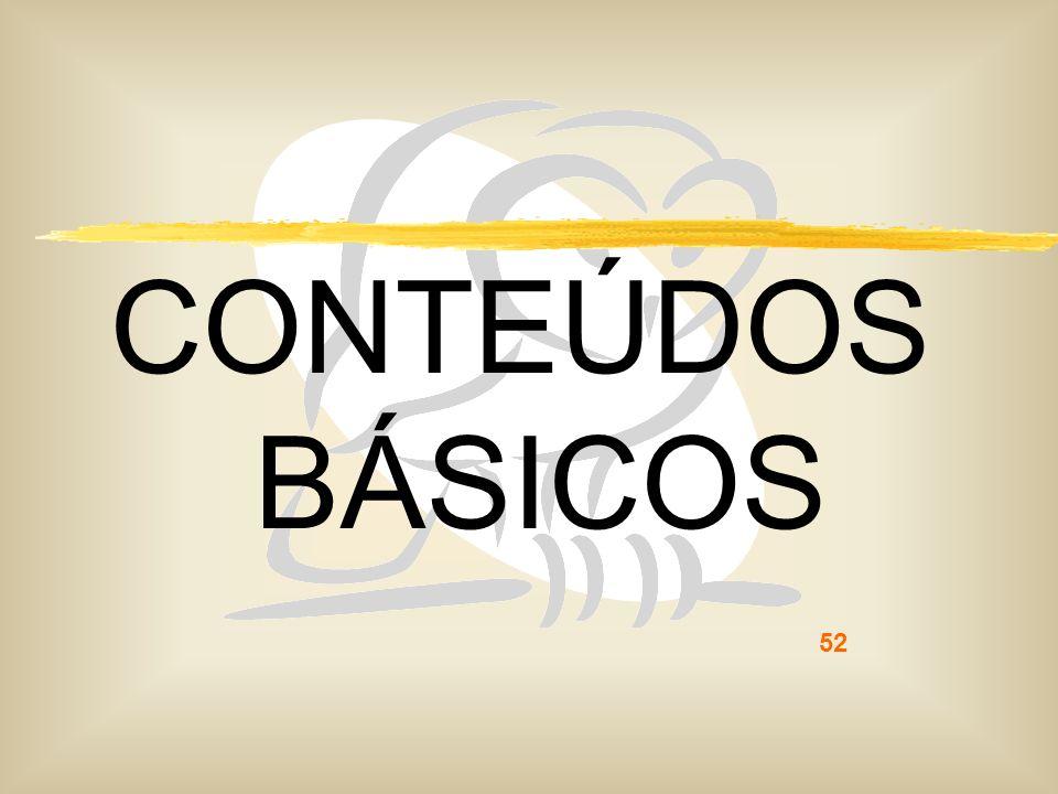 CONTEÚDOS BÁSICOS