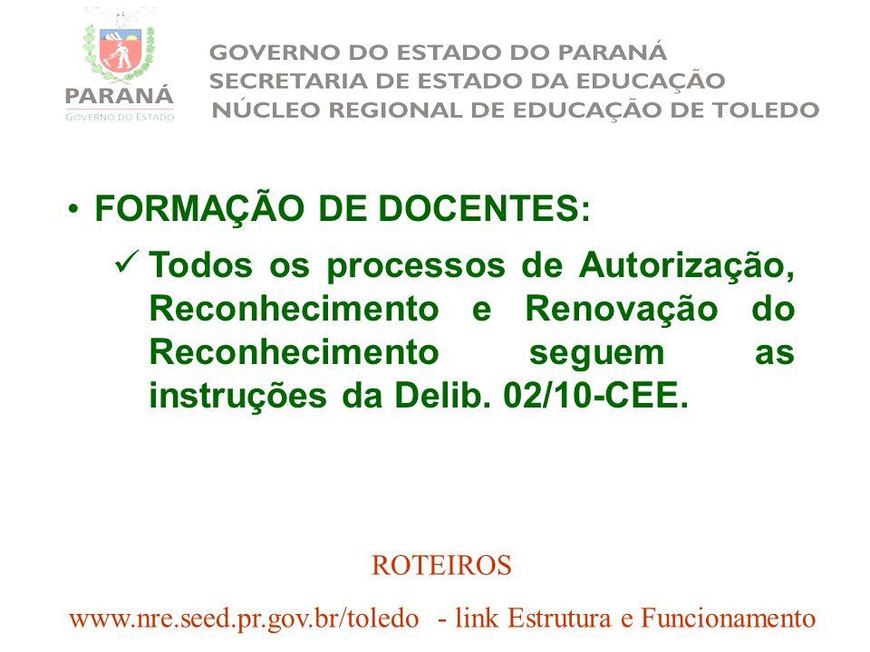 www.nre.seed.pr.gov.br/toledo - link Estrutura e Funcionamento