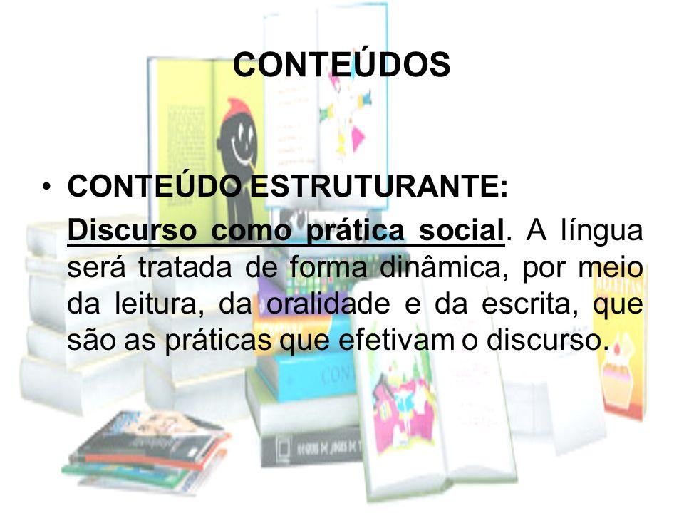 CONTEÚDOS CONTEÚDO ESTRUTURANTE: