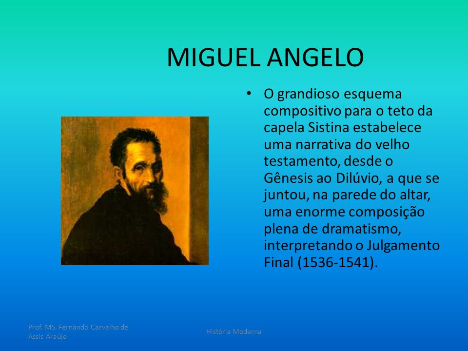 MIGUEL ANGELO