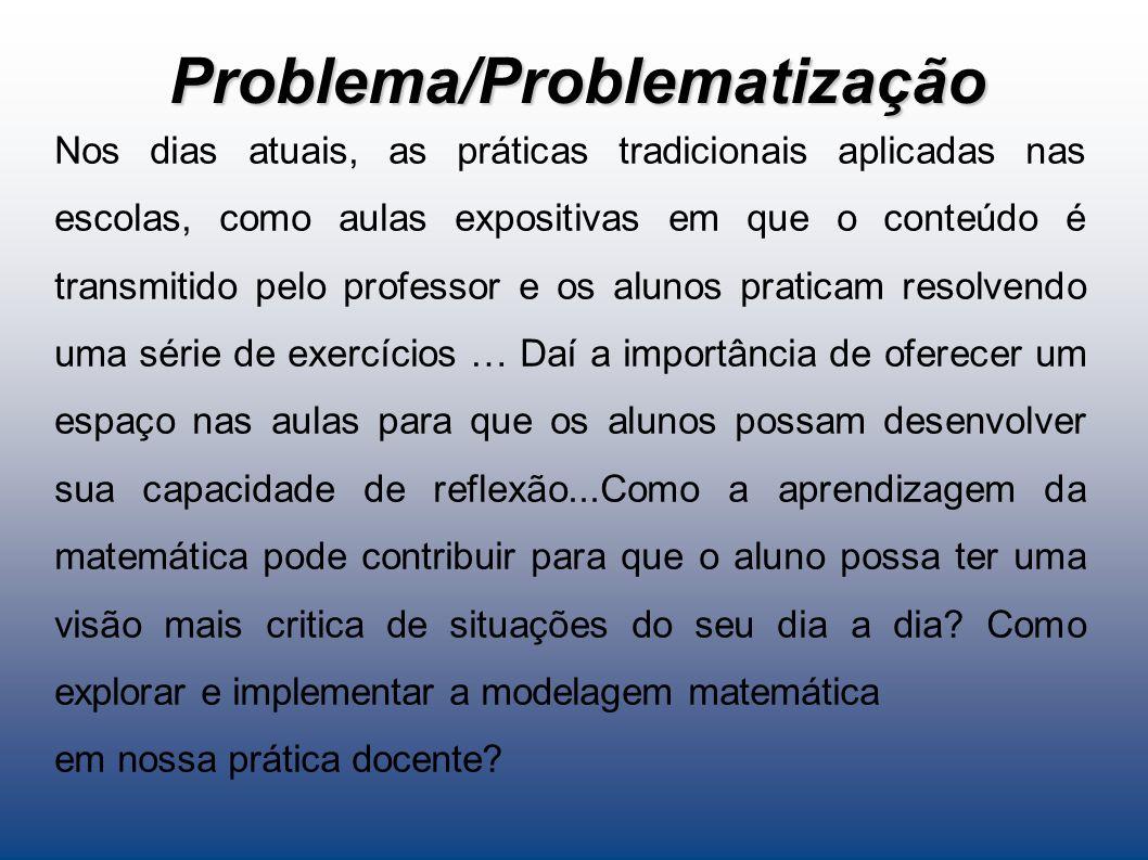 Problema/Problematização