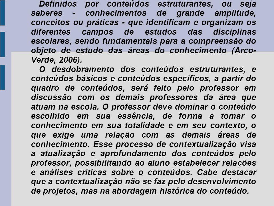 CONTEÚDOS :