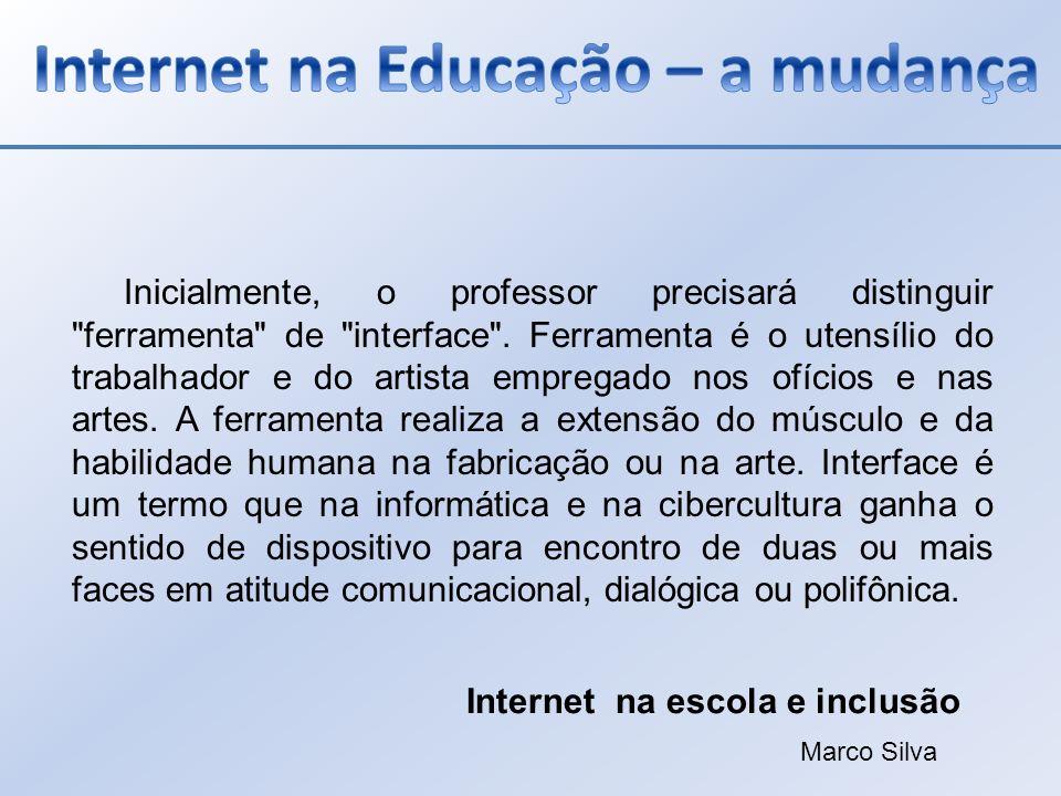 Internet na Educação – a mudança