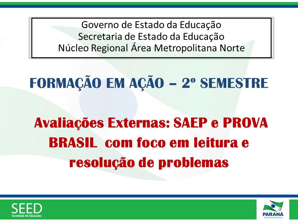 Governo de Estado da Educação