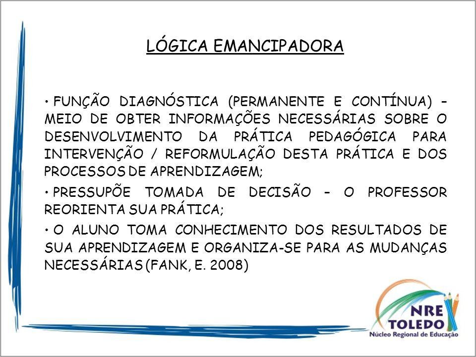 LÓGICA EMANCIPADORA