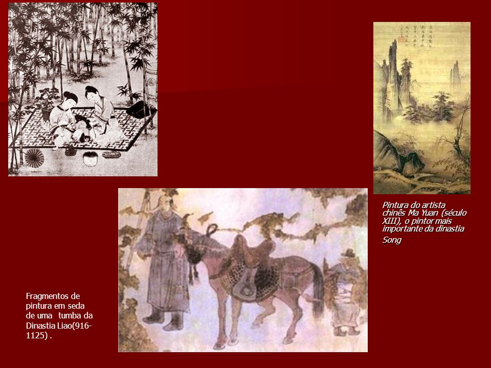 Pintura do artista chinês Ma Yuan (século XIII), o pintor mais importante da dinastia Song