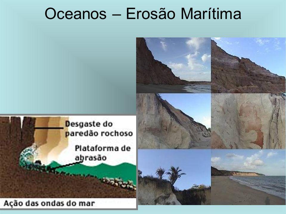 Oceanos – Erosão Marítima