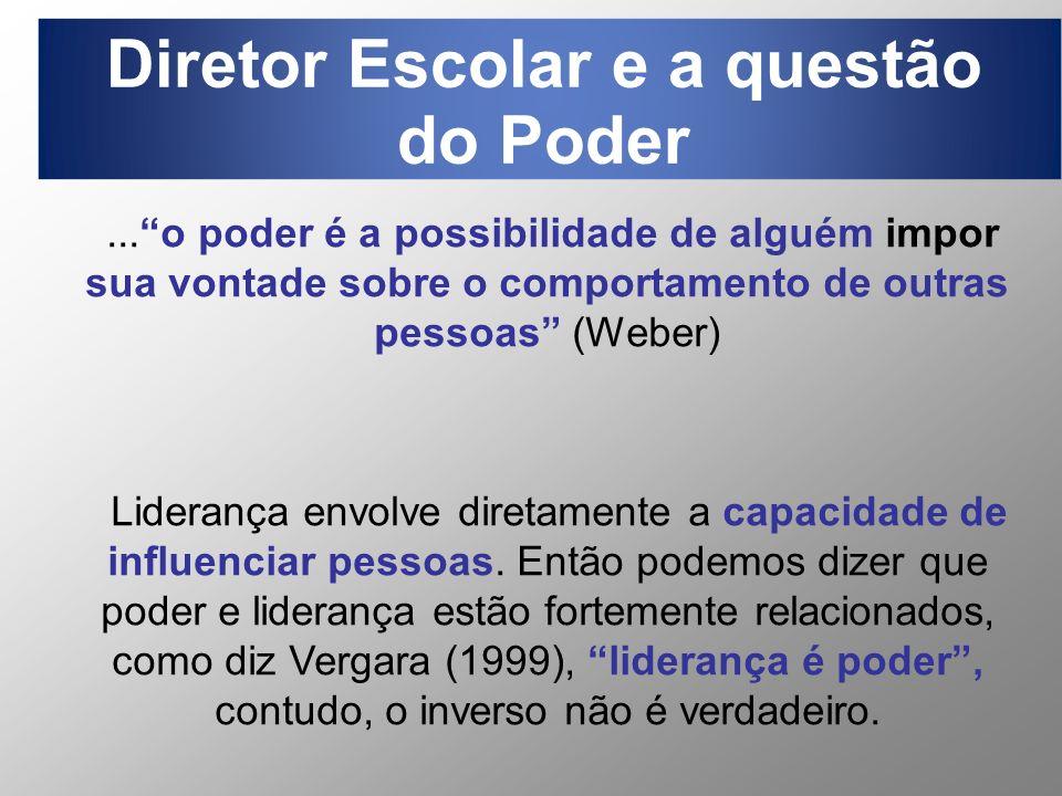 Diretor Escolar e a questão do Poder