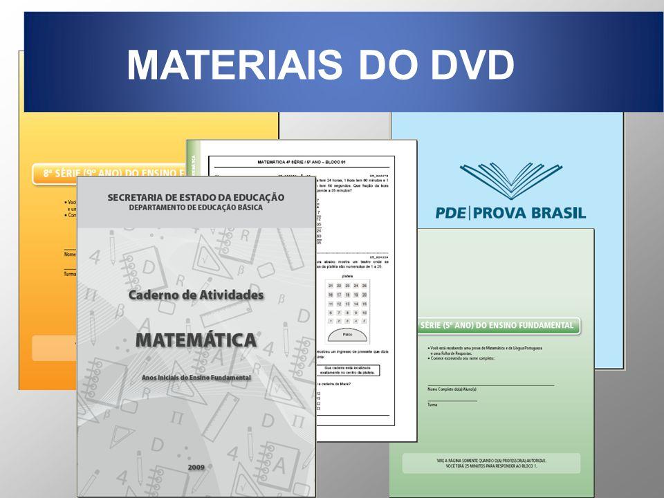 MATERIAIS DO DVD