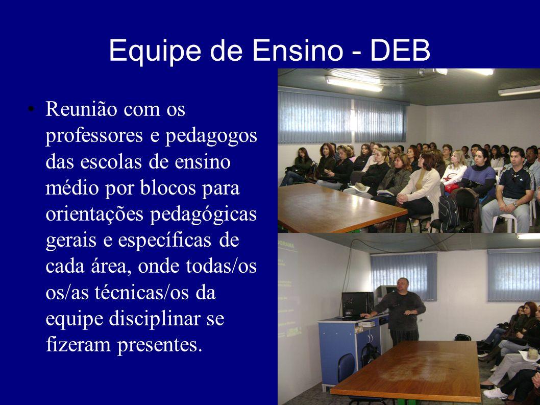 Equipe de Ensino - DEB
