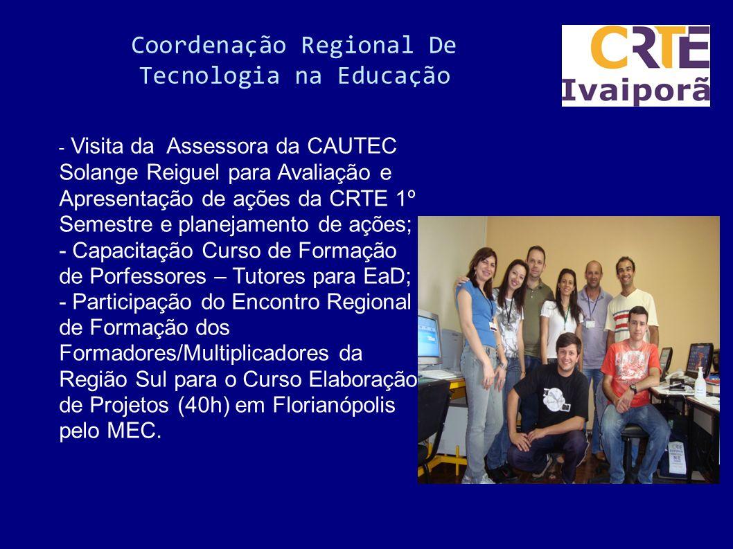 Coordenação Regional De Tecnologia na Educação