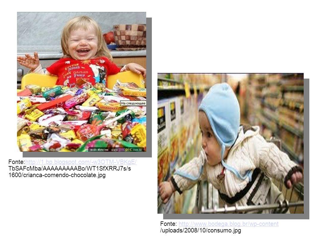 Fonte:http://1.bp.blogspot.com/-w3OTM-VBKgE/ TbSAFcMba/AAAAAAAAABo/WT1SfXRRJ7s/s. 1600/crianca-comendo-chocolate.jpg.