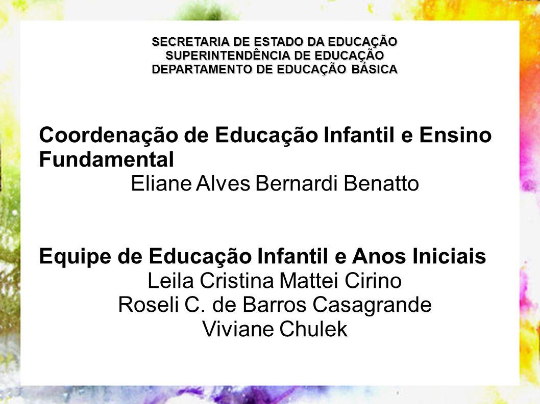 Coordenação de Educação Infantil e Ensino Fundamental