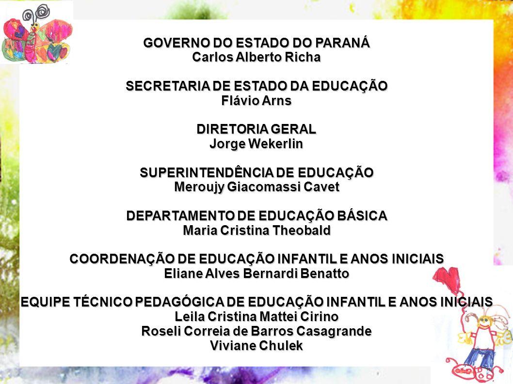 GOVERNO DO ESTADO DO PARANÁ Carlos Alberto Richa