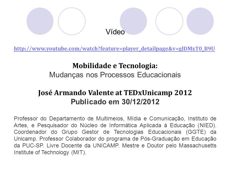 Mobilidade e Tecnologia: José Armando Valente at TEDxUnicamp 2012