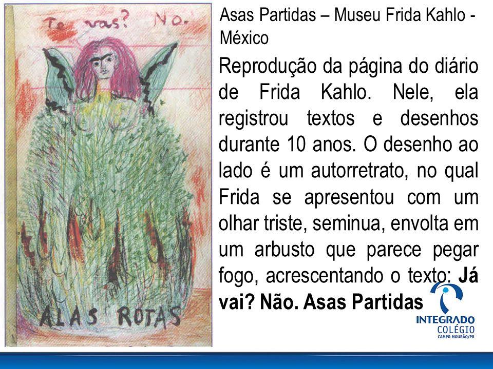 Asas Partidas – Museu Frida Kahlo - México