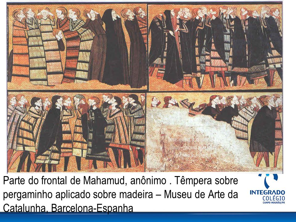Parte do frontal de Mahamud, anônimo