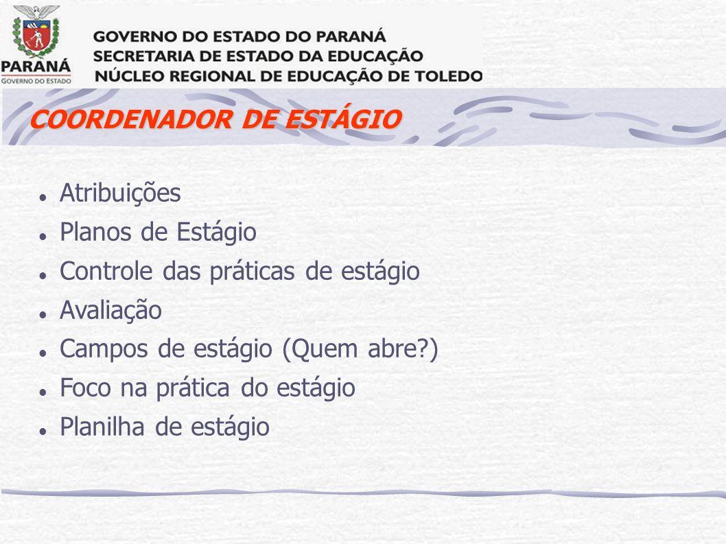 COORDENADOR DE ESTÁGIO