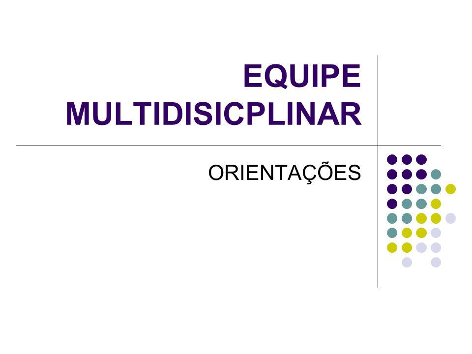 EQUIPE MULTIDISICPLINAR