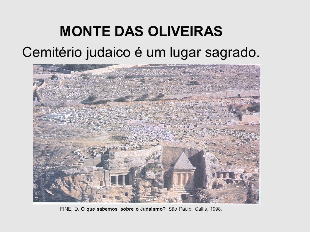 Cemitério judaico é um lugar sagrado.