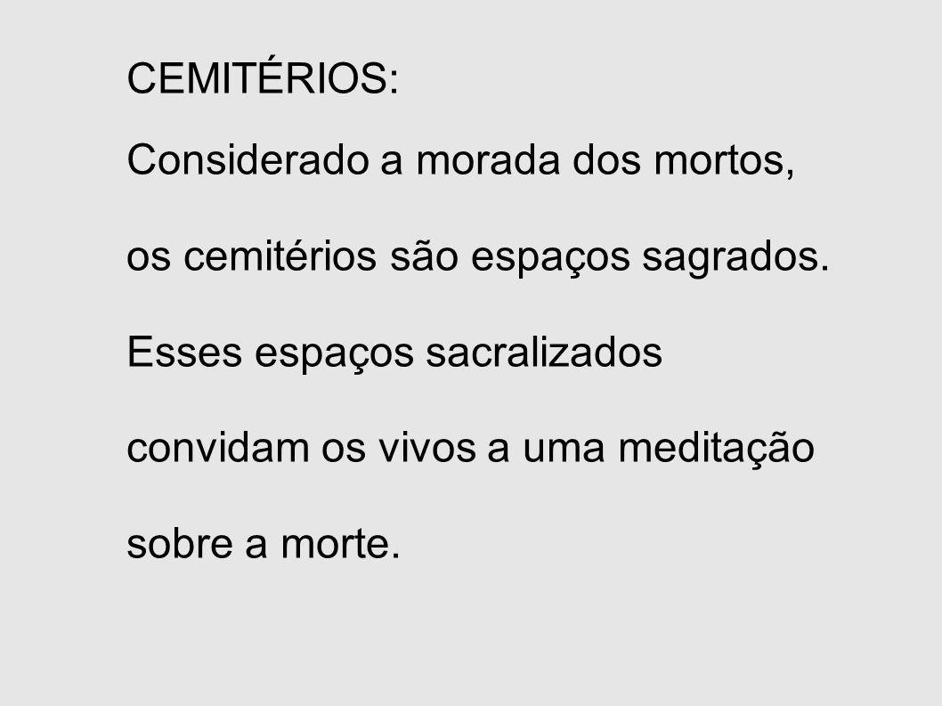 CEMITÉRIOS: