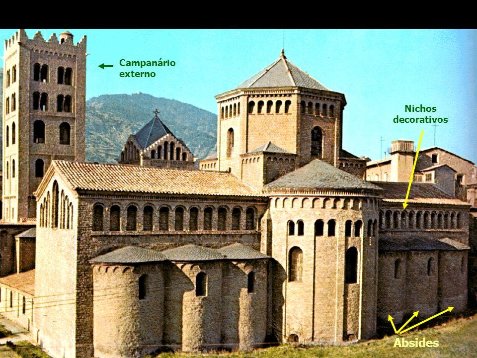 Absides Igreja de Santa Maria Ripolli, Gerona, 1312 - Itália