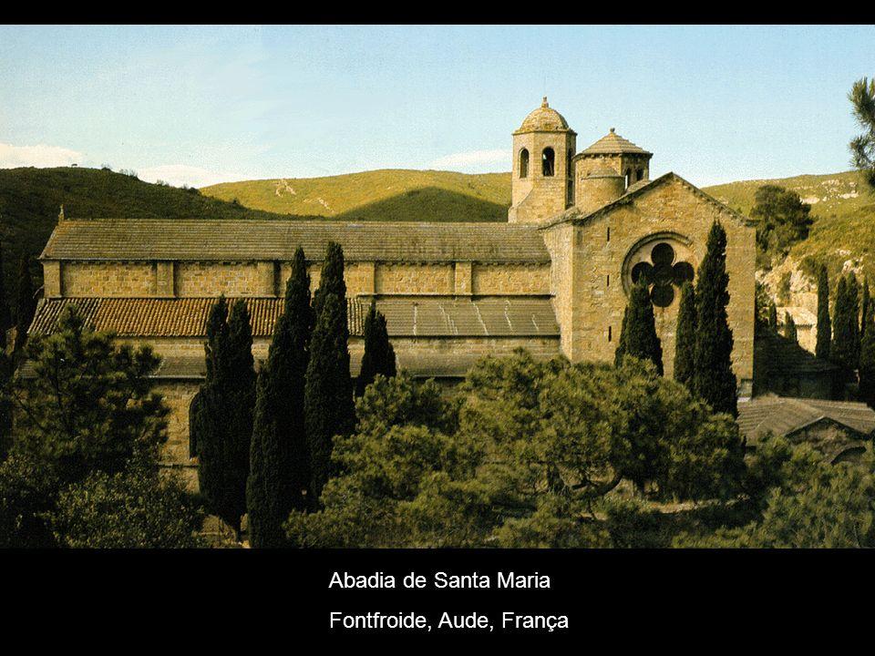 Abadia de Santa Maria Fontfroide, Aude, França