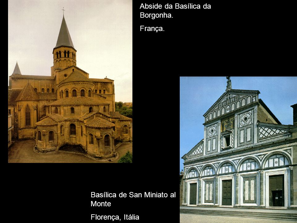 Abside da Basílica da Borgonha.